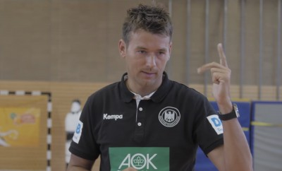 AOK Handball star training 01